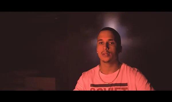 Scene of a rapper