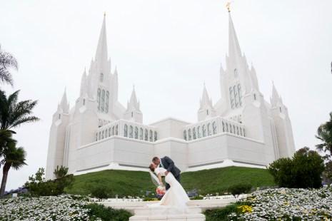 San Diego Temple Wedding