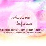 Groupe de soutien | Au coeur des femmes de Montréal