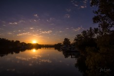 Sunrise of Murray River, Mildura