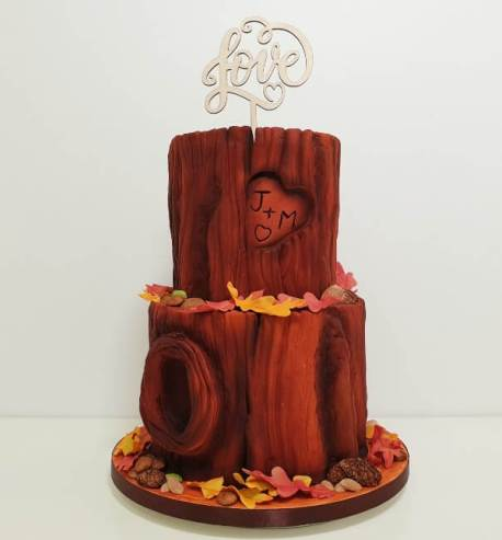 Woodland Wedding Cake Class (online)