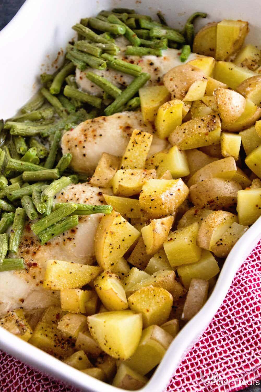 Green Beans Chicken Amp Potatoes Julie S Eats Amp Treats