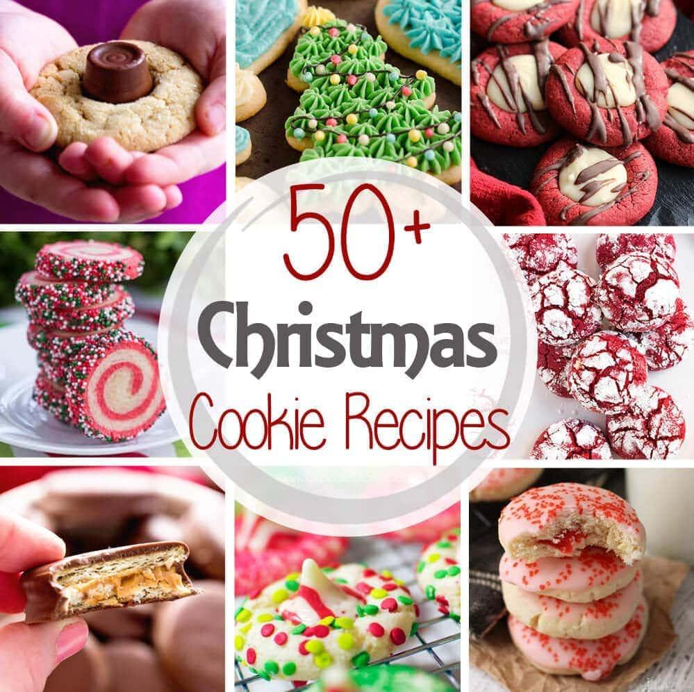 Favorite Christmas Cookies Recipe Video: The Best Christmas Cookie Recipes {50+ Recipes!!}