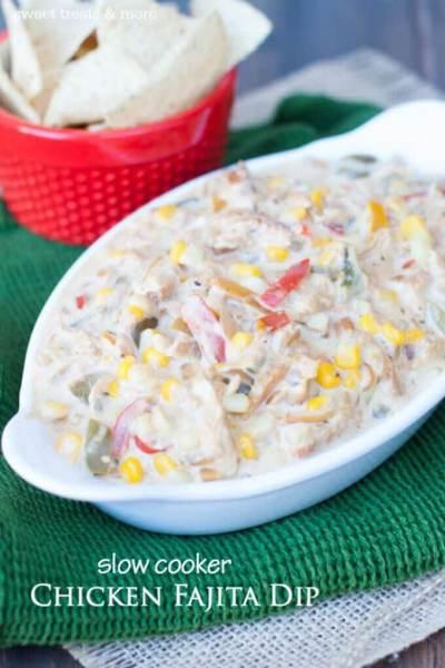 Chicken Fajita Dip
