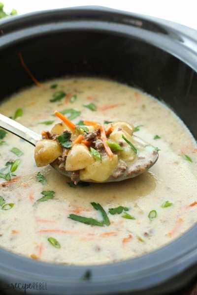 Lightened-Up-Slow-Cooker-Cheeseburger-Soup-www.thereciperebel.com-2-of-7-600x900