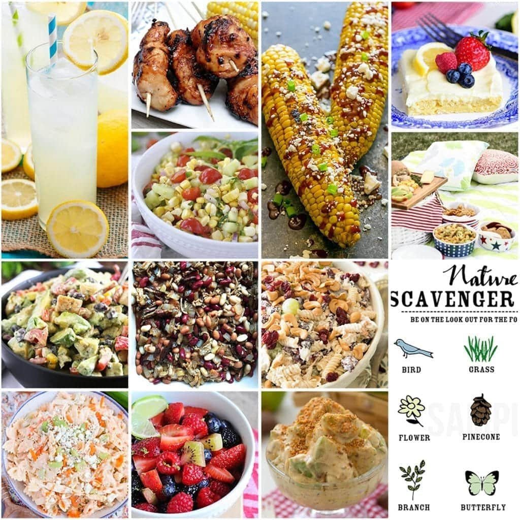 Best picnic ideas julies eats treats the best picnic ideas tons of recipes for picnic foods printables and other ideas forumfinder Choice Image