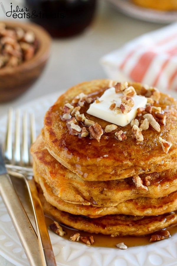 This Sweet Potato Pancake Recipes is one of the best Fall Breakfast Recipes!