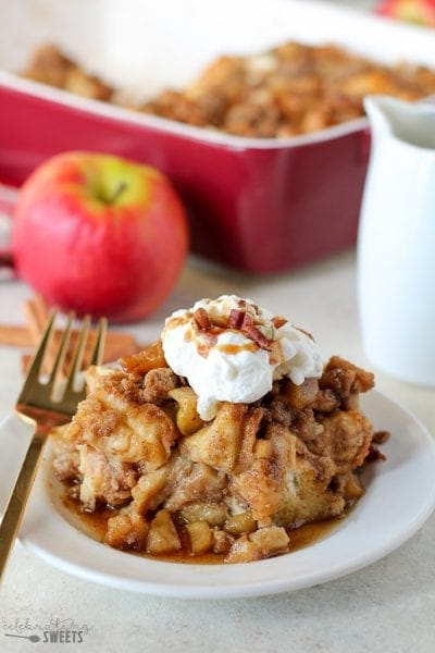 Apple French Toast Casserole (Celebrating Sweets)