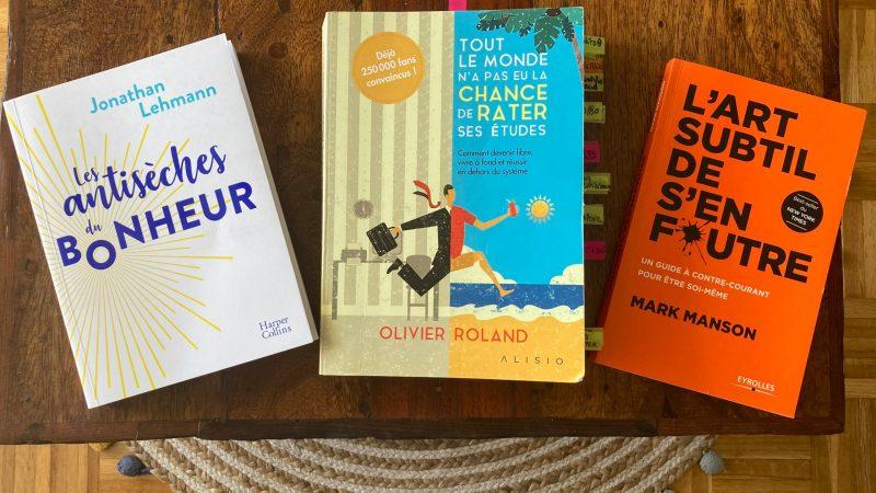 3 livres pour se faire du bien et passer à l'action