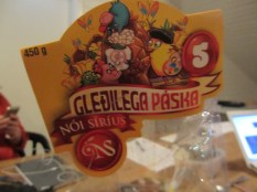 páskaeggs varieties are numbered