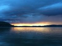 Bridge Lake Sunset