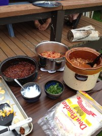 Mexican Pulled Pork with the Fixins