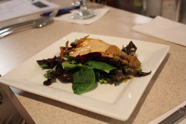 Fried Soft-Shell Crab with Charon Sauce