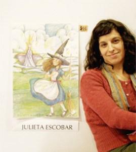Julieta Escobar, ilustradora