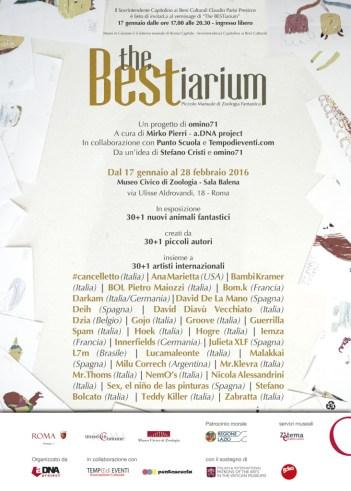 The BESTiarium - artisti