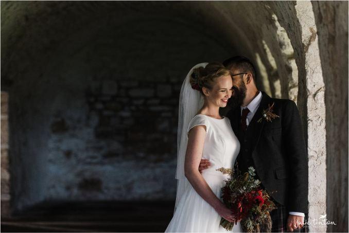inchcolm island wedding - edinburgh wedding photographer