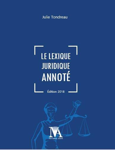 Le Lexique juridique annoté