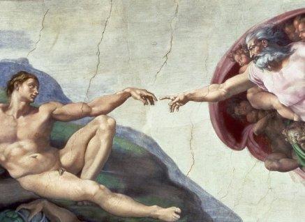 Creation-of-Adam-Sistine-Chapel-detail-1510-by-Michelangelo