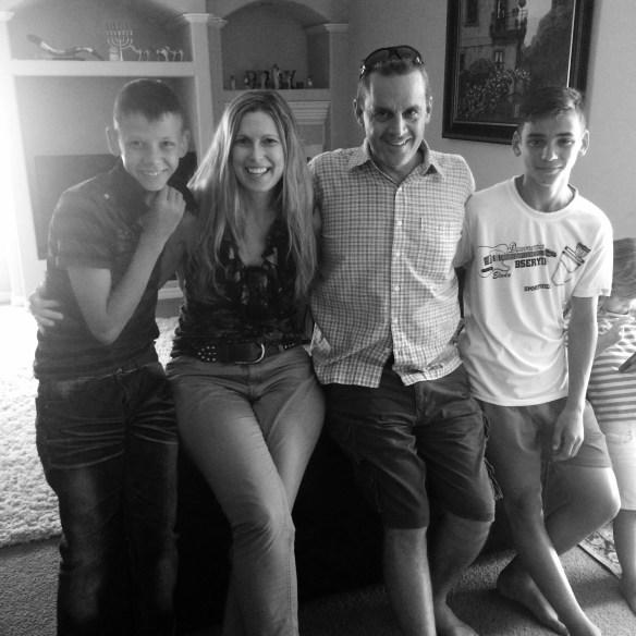 Family b&W