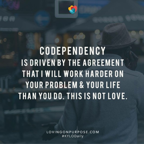 codependency lovingonpurpose