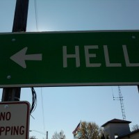 Photos of Hell-Wish You Were Here!