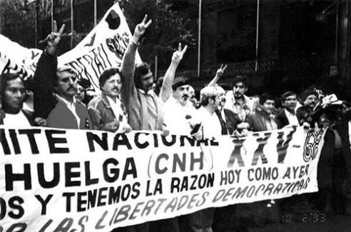 Manifestación por los 25 años del 2 de octubre