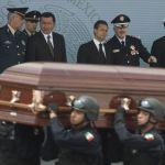 Jesús Murillo Karam, Salvador Cienfuegos,  Miguel Ángel Osorio Chong, Enrique Peña Nieto, Manuel Mondragón