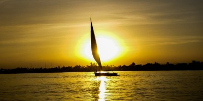 Cruising along the Nile