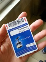 Seilbahn-Ticket.