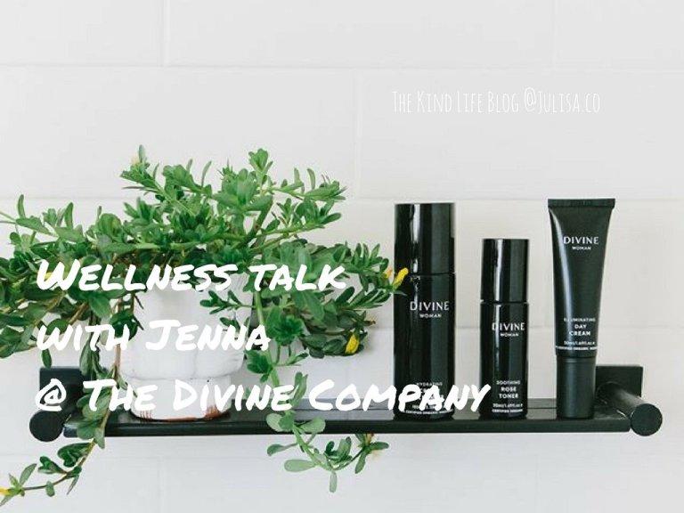 Wellness Talk with Jenna @ The Divine Company