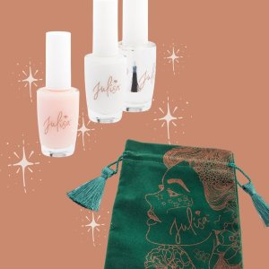 The Little French Mermaid French Manicure Kit