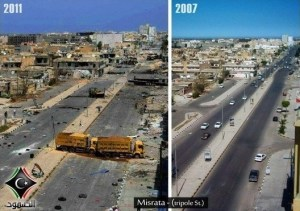 Misrata: Impressionen 2011 und 2007 - vielen Dank NATO!