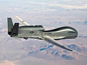Air Force handout photo of a RQ-4 Global Hawk