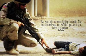 terrorism occupation