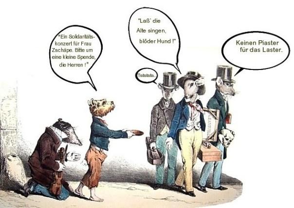 Die Ratten wissen Becheid...
