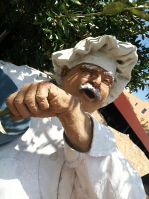 chef statue