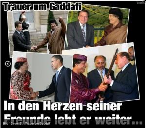 gaddafis freunde