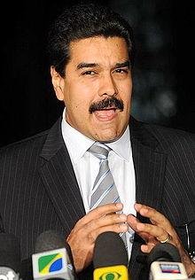 Präsident Nicolas Maduro Moros Foto: Wikipedia