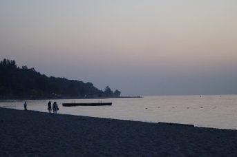 Sonnenuntergang an Jericho Beach