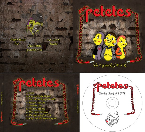"""""""The Petetes"""" cd completo / 2The Petetes complet cd cover"""