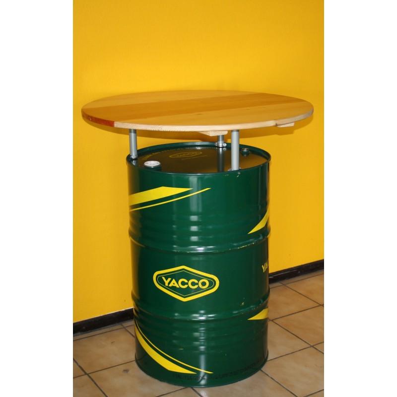 Tonneau Dhuile En Table Bar Juls Design