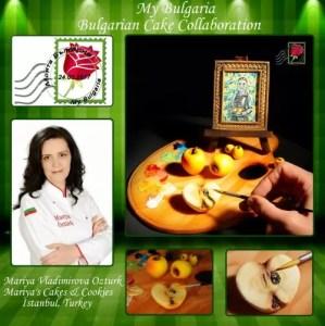 Мария Владимирова Озтюрк Mariya's Cakes & Cookies Истанбул,Турция Тема: Момичето с ябълките - Владимир Димитров -Майстора