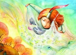 Царството на Обещанието - книга за момчета, Илюстрации Веселка Велинова, автор: Валентина Щайн