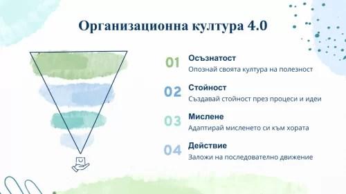 Организационна култура 4.0 Юлика Новкова