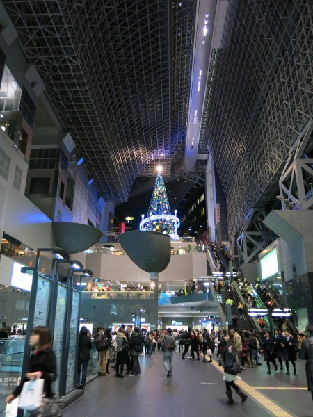 japan 2012 kyoto station christmas