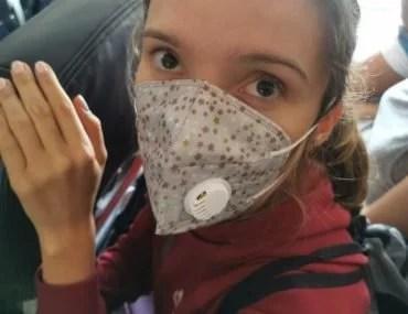 coronavirus travel by Julia Chubarova