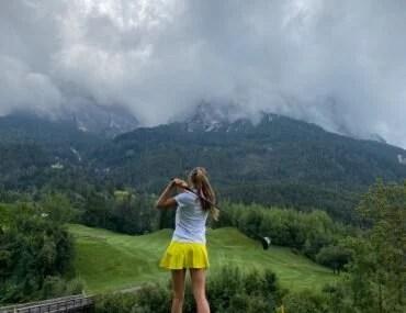 St Vigil golf Julia Chubarova