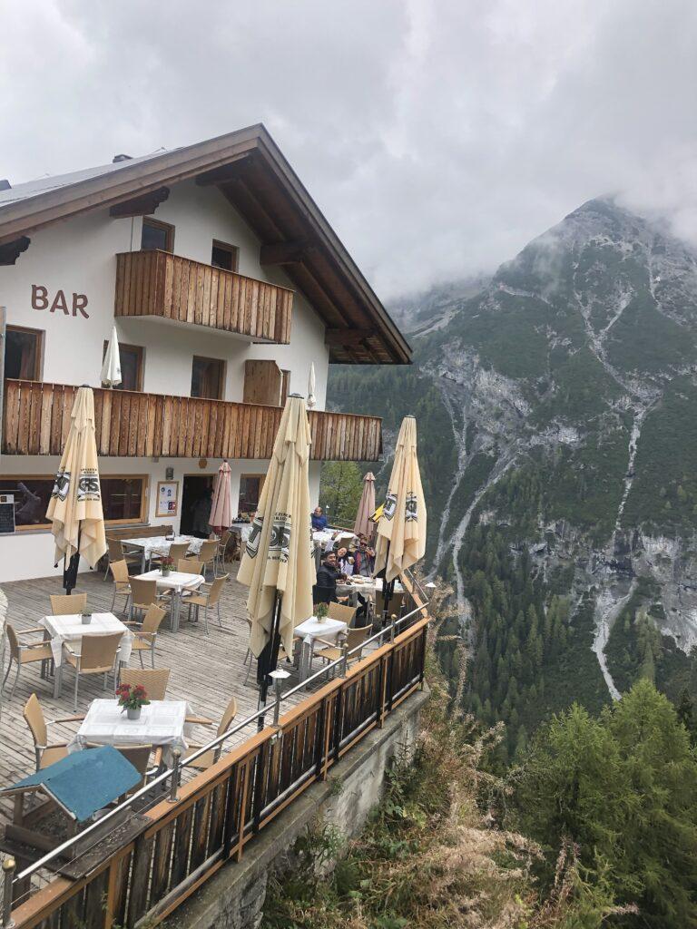 Restaurant Rocco Bianca dolomites