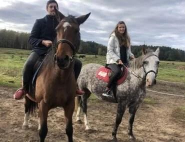 Катание на лошадях Латвия