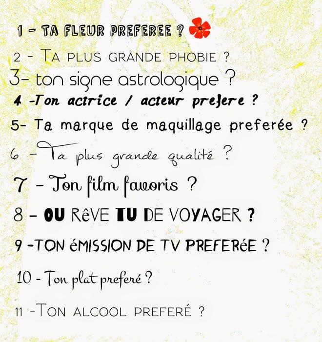 blog beauté tag liebster award questions alexia